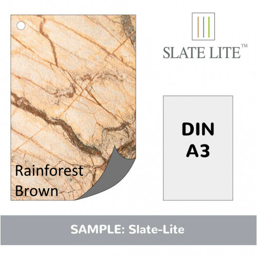 Muster A3 Rainforest Brown 1 Blatt inkl. Versand